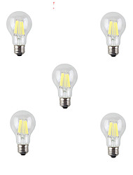 7W E26/E27 LED Filament Bulbs A60(A19) 8 High Power LED 760-800 lm Warm White Cold White 3000K/6500K K Decorative AC 220-240 V
