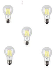 7W E26/E27 LED Glühlampen A60(A19) 8 Hochleistungs - LED 760-800 lm Warmes Weiß Kühles Weiß 3000K/6500K K Dekorativ AC 220-240 V