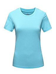 Women's Hiking T-shirt Quick Dry Ultraviolet Resistant Moisture Permeability Dust Proof High Breathability (>15,001g) Breathable
