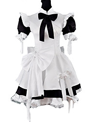 cheap -Gothic Lolita Dress Classic Lolita Dress Princess Satin Women's Maid Suits Cosplay Puff/Balloon Short Sleeves