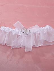 полиэстер свадебный подвязку с возлюбленной свадебные аксессуары классический элегантный стиль