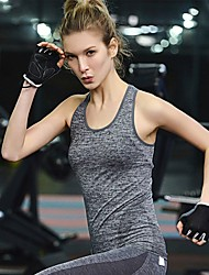 cheap -YUIYE® High Quality Women High Elastic Running Yoga Quick Dry Sports Vest Sports Tank Top