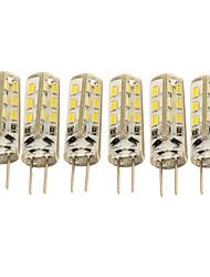 1.5W G4 LED Mais-Birnen T 24 SMD 3014 120-150 lm Warmes Weiß Kühles Weiß 3000/6000 K Dekorativ DC 12 V