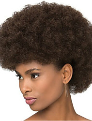 cheap -Synthetic Wig Wavy / Afro Synthetic Hair African American Wig Wig Women's Short