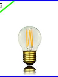 billige -bofa led g45 3w antik edison silke ball boble lampe (85v-265v)