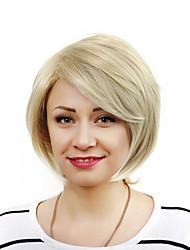 2016 новый короткий естественные прямые светлые волосы синтетический парик высокого качества