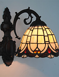 8inch Retro Tiffany Wall Lights Glass Shade  Living Room Bedroom light Fixture