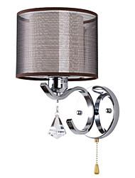 Stile Mini Lampade a candela da parete,Moderno/contemporaneo E26/E27 Metallo