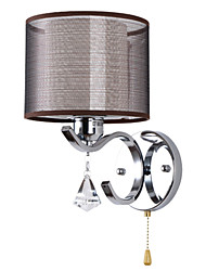 cheap -Wall Light Wall Sconces 60W 110-120V 220-240V E26/E27 Modern/Contemporary Electroplated