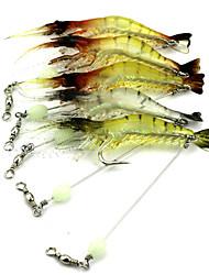 Недорогие -1 pcs Рыболовная приманка Креветка Тонущие Bass Форель щука Ловля на приманку Ужение на спиннинг Троллинг и рыболовное судно пластик