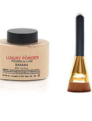 bem ny Banane luxuary Pulver + flache Kontur Make-up Pinsel