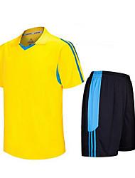 Per uomo Calcio Shorts + Set di vestiti/Completi Traspirante Asciugatura rapida Primavera Estate Autunno Inverno Classico Terylene