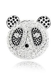 High Quality Crystal Panda Brooch for Wedding Party Lady