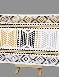 abordables -nouvelle mode d'estampage à chaud de grande taille anneau non-toxique sûre bracelet hawaïen tatouage imperméable autocollants