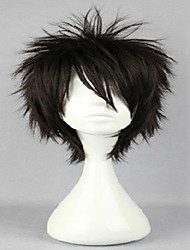 abordables -Pelucas sintéticas / Pelucas de Broma Rizado Corte a capas Pelo sintético Peluca Mujer