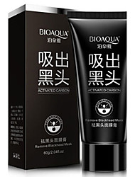 BIOAQUA Facial Nose Blackhead Strip Remover Deep Cleaner Suction Peel Off Black Head Acne Pore Treatments Face Mask