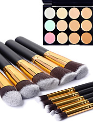 cheap -Concealer Cream Concealer / Contour 1 pcs Makeup Eye Lip Body Dry Wet Matte Whitening Moisture Coverage 15 Colors Cosmetic Grooming Supplies