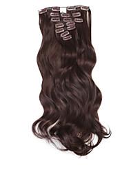 """Недорогие -neitsi 20 """"140g локон волнистые волосы утка клип в / на синтетических наращивания волос 7pcs"""