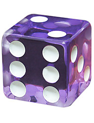 cheap -Royal Holy Magic Large Screen Dice Game Appeal Board Game 18 Mm Square Acrylic Resin Transparent Dice Dice 100 Grains