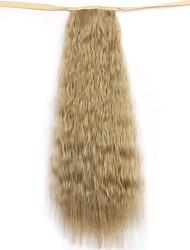 abordables -lino longitud de 50 cm volumen peluca de la cola de caballo de maíz caliente de cola de caballo (color 16)