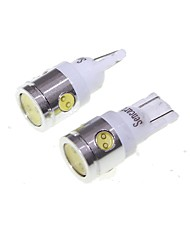 T10 BA9S 5W 400lm 4-LED White 6000K LED White Car Side Light / Instrument / Reading lamp - (12V 2PCS)