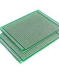 baratos -placa universal de face única fibra de vidro prototipagem PCB (7 centímetros * 9 centímetros)