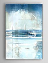 Peint à la main Abstrait Verticale,Moderne Un Panneau Toile Peinture à l'huile Hang-peint For Décoration d'intérieur