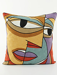 Impressionist /Abstract Art Pattern Cotton Pillowcase  Home Decor pillow Cover