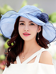 Women Cotton Lace Floppy Hat Casual Cloth Caps Collapsible Beach Fashion Hats