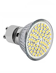 cheap -3.5 GU10 GU5.3(MR16) E26/E27 LED Spotlight MR16 60SMD SMD 2835 300-350 lm Warm White Cold White 3000-6500K K Decorative AC 220-240 DC 12