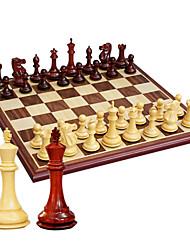 Недорогие -маточное ул. большие стереоскопические шахматные чистые деревянные шахматы штук + бадьян