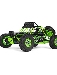 Carro com CR WL Toys 12428 2.4G Off Road Car Alta Velocidade 4WD Drift Car Carroça 1:12 Electrico Escovado 50 KM / H Controlo Remoto