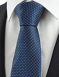 Muž Bavlna / Polyester / Umělé hedvábí Vintage / Roztomilý / Party / Pracovní / Na běžné nošení Kravata,Pléd
