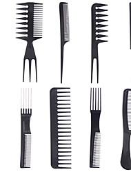 Spazzola e pettine Per capelli bagnati e asciutti Others Antistatico Nero Normale Gold Hairpin