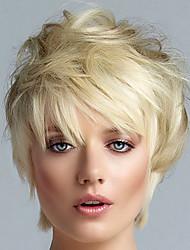 European Wig Straight Fashion Wig Short Blonde TOP Quality Women Hair Wig