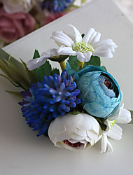 Wedding Flowers Free-form Handmade Roses Wrist Corsages Wedding Accessories
