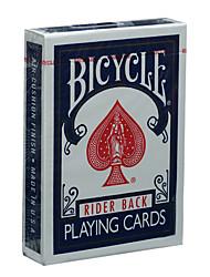 Недорогие -Американский велосипед покер велосипед покер оригинальные покер магические реквизит настольная игра карты синий (а)