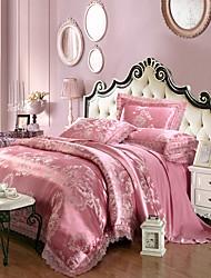 cheap -Yuxin®Tencel Fabric Modal Satin Jacquard Bedding Wedding Suite 4 Piece   1.5m-1.8m/2.0m  bed  Bedding Set