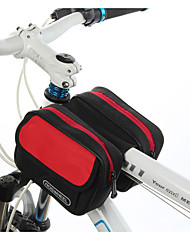cheap -ROSWHEEL Bike Bag 1.7L Bike Frame Bag Moistureproof/Moisture Permeability Waterproof Zipper Wearable Shockproof Bicycle Bag Cloth PVC