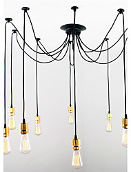 cheap -CXYlight Vintage Pendant Light Ambient Light - Mini Style, 110-120V 220-240V Bulb Not Included