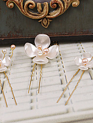cheap -Plastic Hair Pin 1 Wedding Special Occasion Casual Outdoor Headpiece