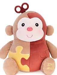 Недорогие -MeToo микрофон кролик кукла чучело обезьяны sunpoo обезьяны талисман знаки Обезьяна украшения ежегодный встреча красный любовь королева