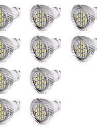 GU10 Faretti LED MR16 16 SMD 5630 560 lm Luce fredda 6000 K Decorativo AC 220-240 V