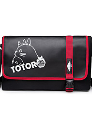 Bag Inspired by My Neighbor Totoro Cat Anime Cosplay Accessories Bag Black Canvas Male / Female