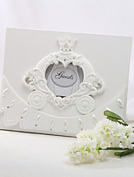 cheap -Resin Fairytale ThemeWithRhinestone Guest Book