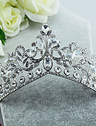 Rhinestone Alloy Tiaras Headpiece