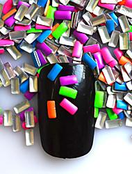1000 Chiodo decorazione di arte strass Perle Cosmetici e trucchi Fantasie design per manicure
