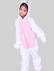 Kigurumi plišana pidžama Unicorn Onesie pidžama Kostim Flanel Flis Pink Cosplay Za Dijete Zivotinja Odjeća Za Apavanje Crtani film Noć