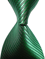 cheap -KissTies Men's Striped Microfiber Tie Necktie With Gift Box (12 Colors Available)