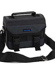 Bolsa-Preto-Á Prova-de-Pó-Um Ombro-Universal / Canon / Nikon / Olympus / Sony / Fujitsu / Casio / Kodak / Panasonic / Samsung / Pentax /
